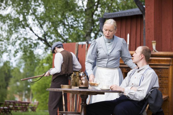 Sommarteater Susanne gunnersen Madam Flod